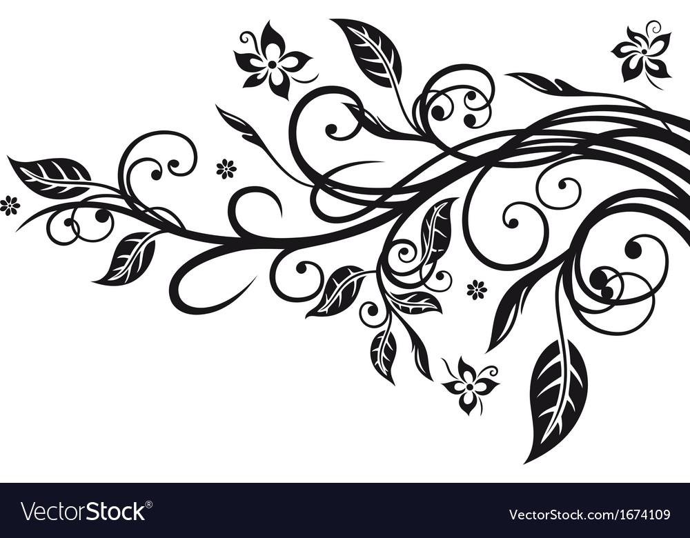 Leaves flowers