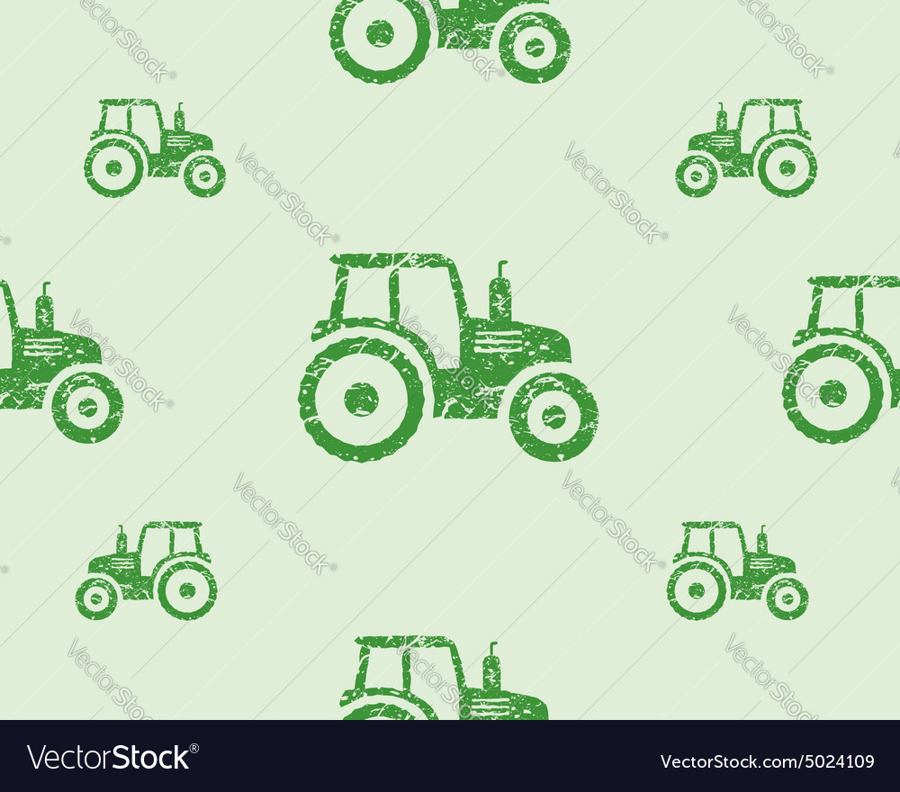 Natural products seamless pattern farm fresh eco vector image