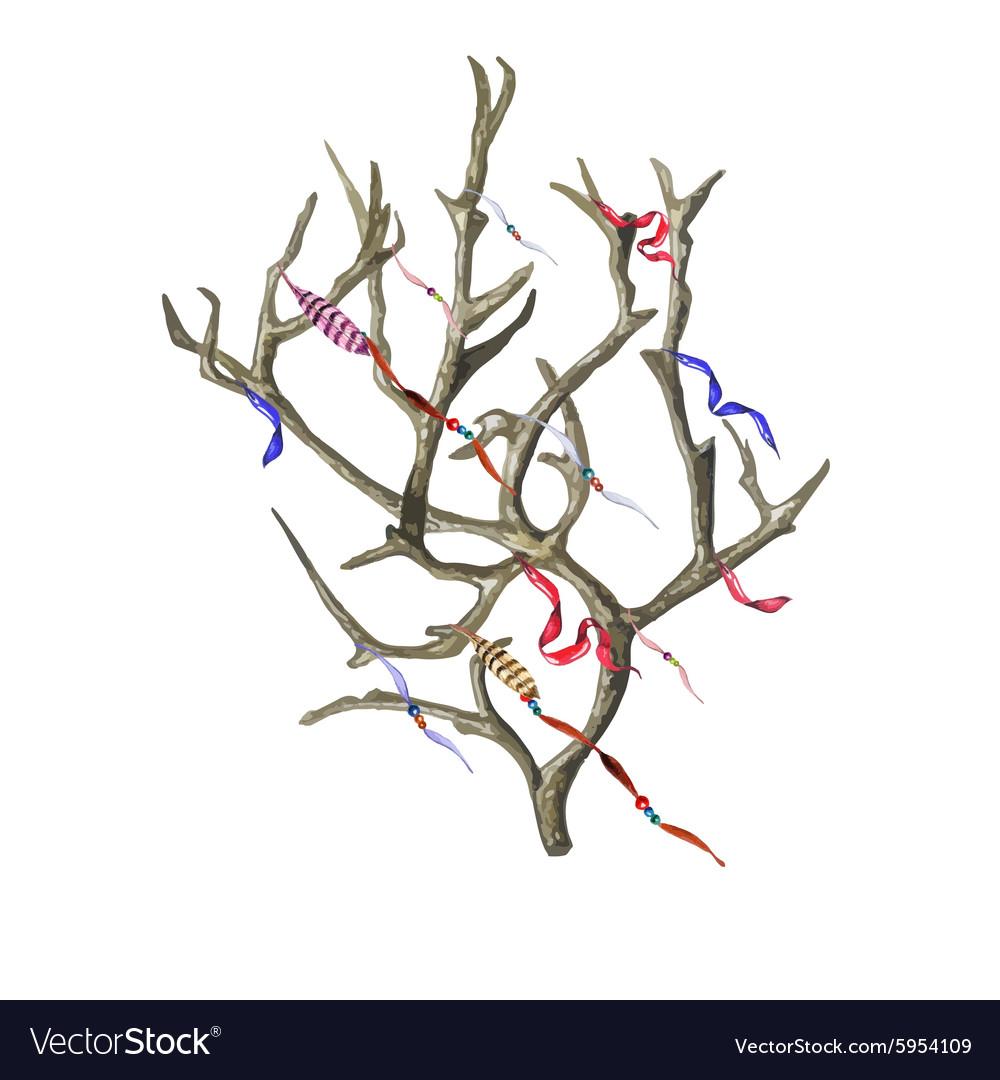 Wish Tree vector image