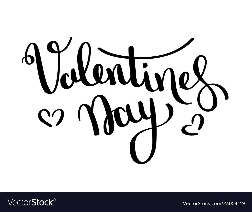 Valentines day card happy valentines day