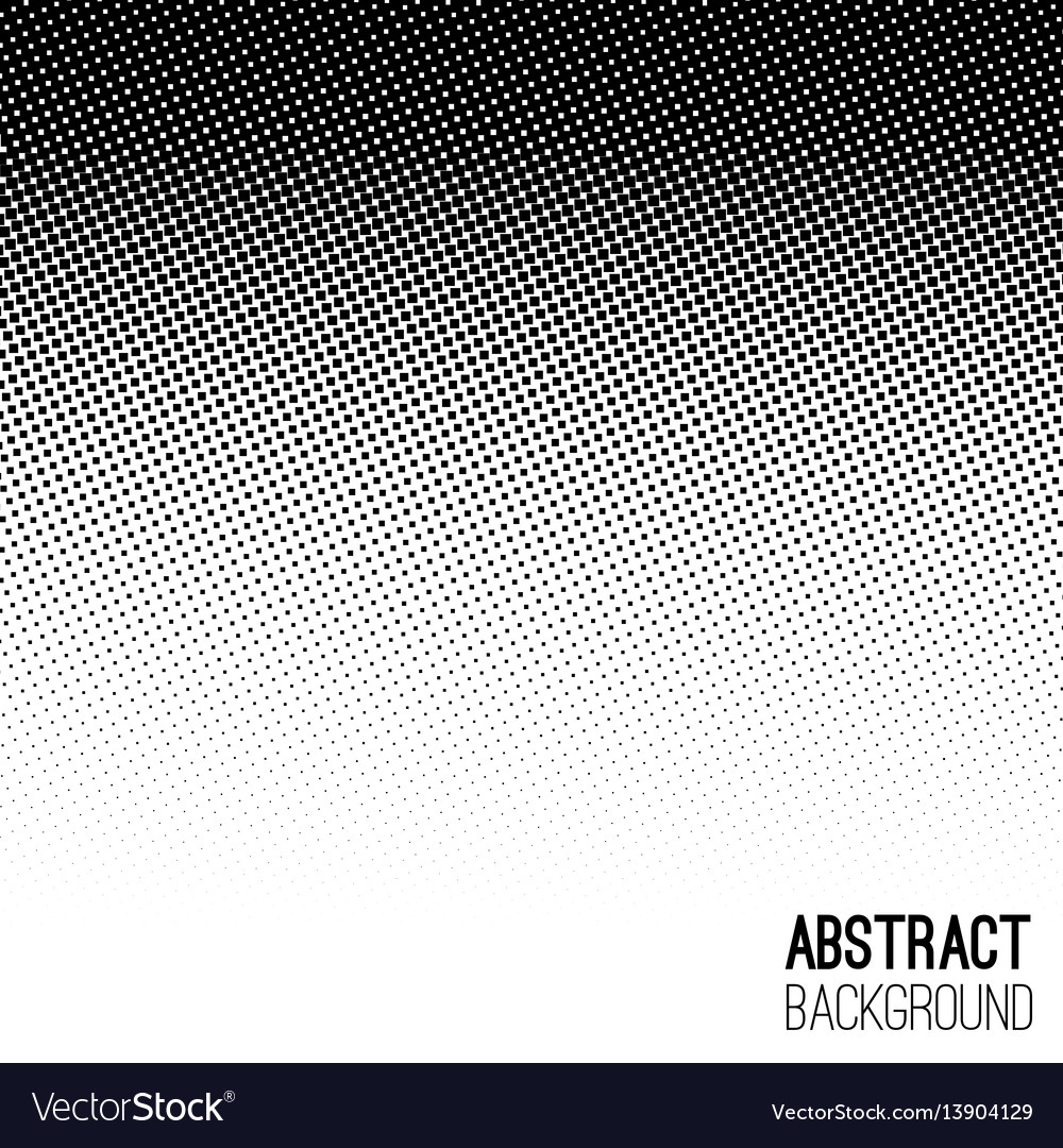 Abstract halftone geometric background