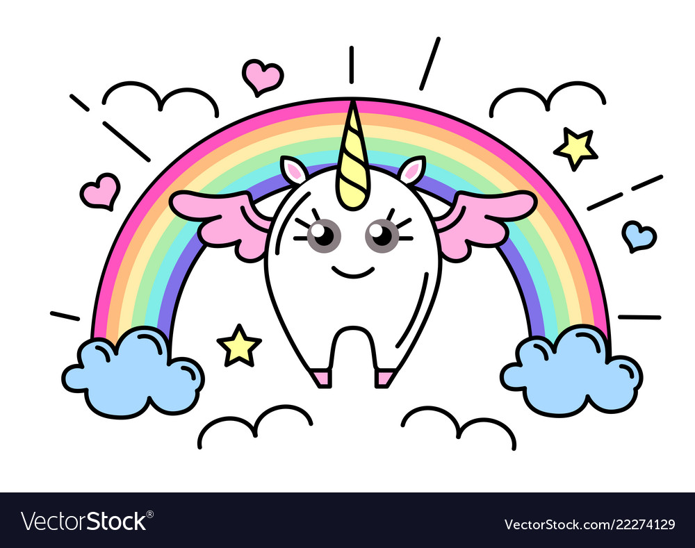 Fantasy animal horse unicorn