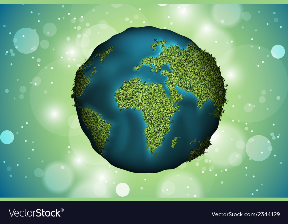 Green planet grass