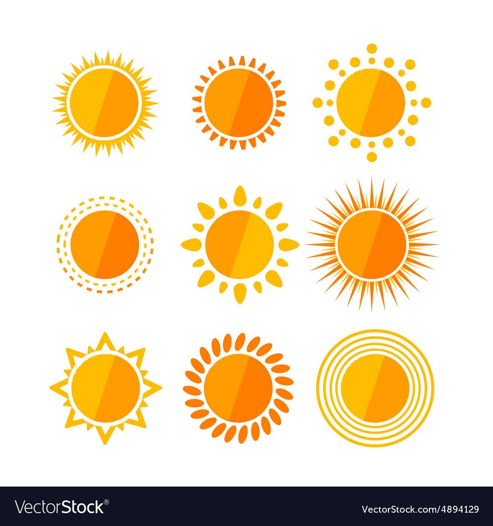 Sun flat set