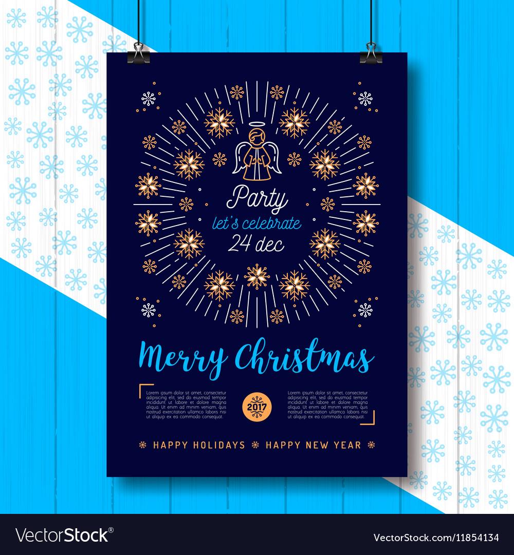Christmas Religious.Christmas Poster Xmas Party Flyer Religious