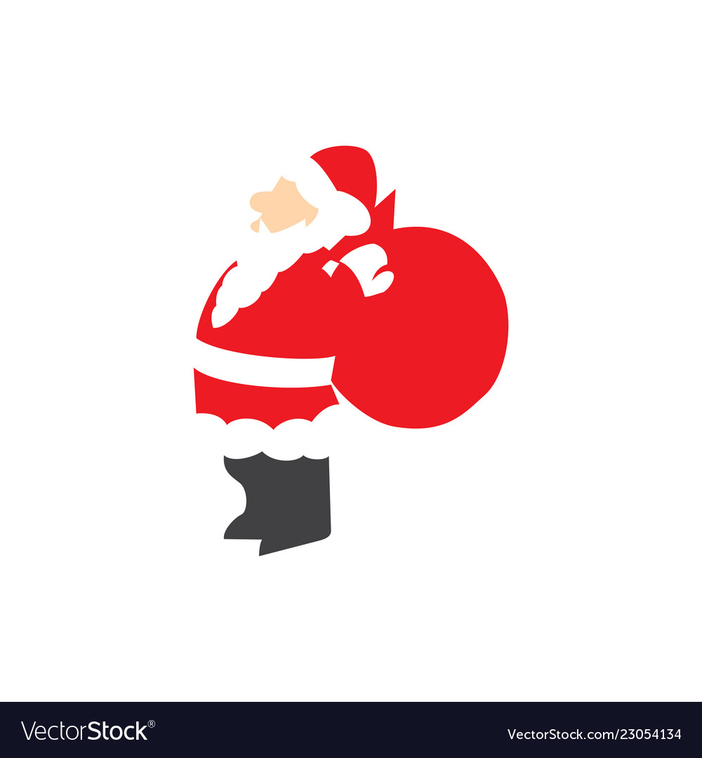 Santa claus give award