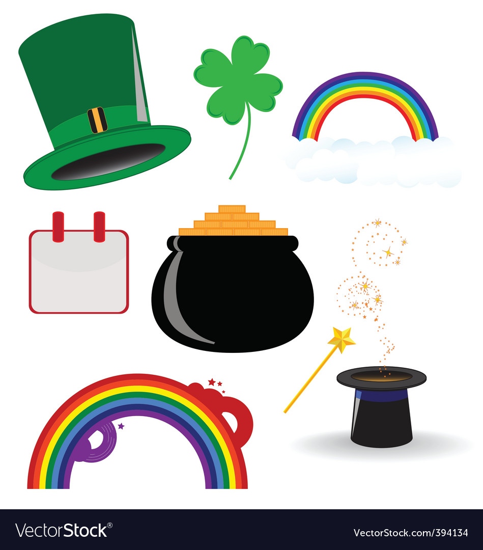 St parties icon vector image