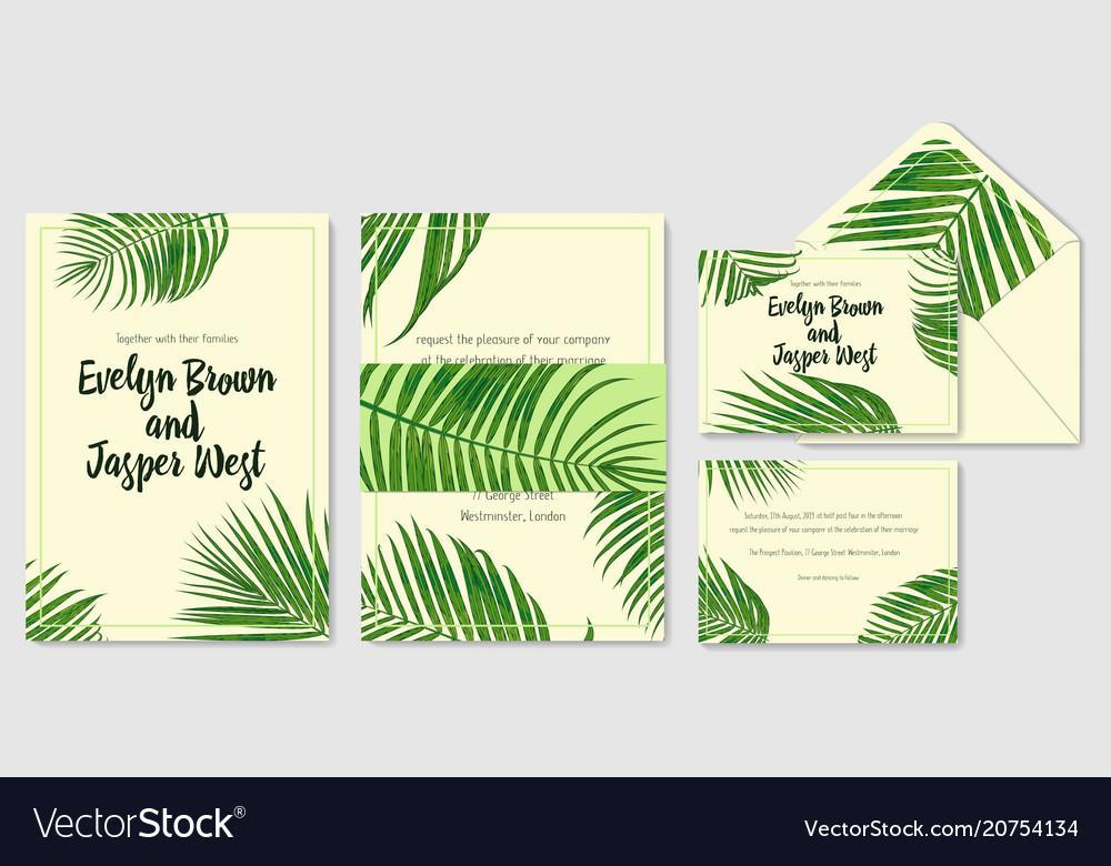 Wedding invite envelope rsvp label save the