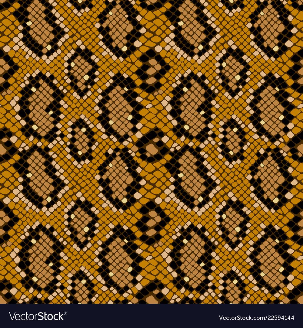Snake skin seamless pattern texture background