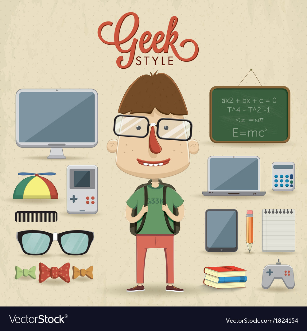 Geek character design