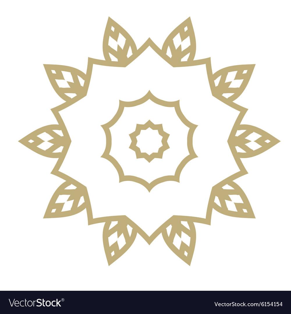 Mandala Hand drawn ethnic decorative elements