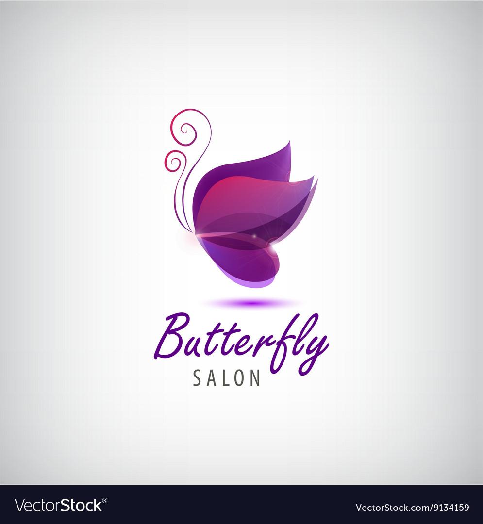 Butterfly logo Spa salon