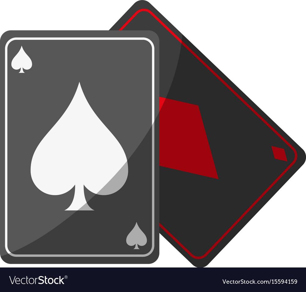 Game cards spades diamonds icon image