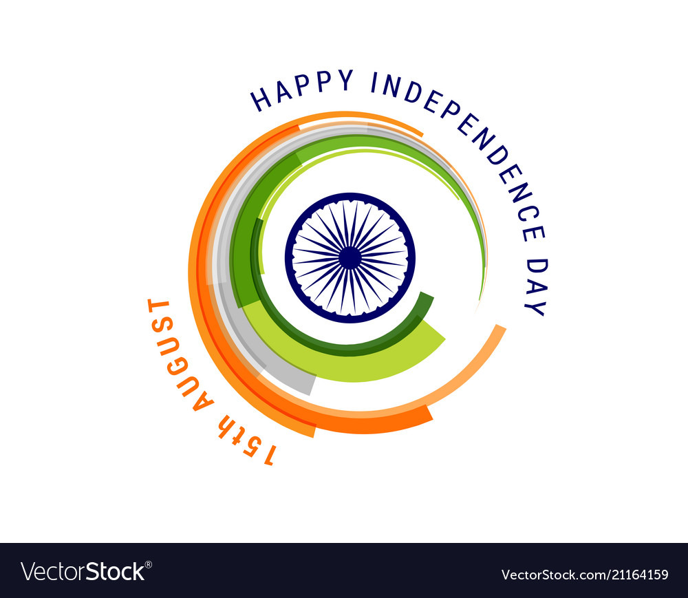 Indian holiday happy independence day celebration