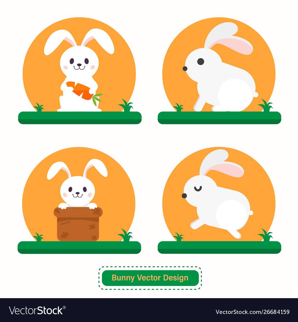 Rabbit icon bunny icon design