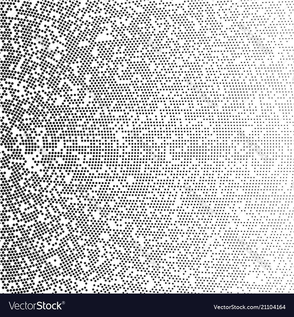 Radial gradient halftone dots background modern