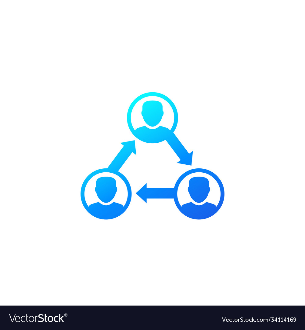 People interacting team interaction icon