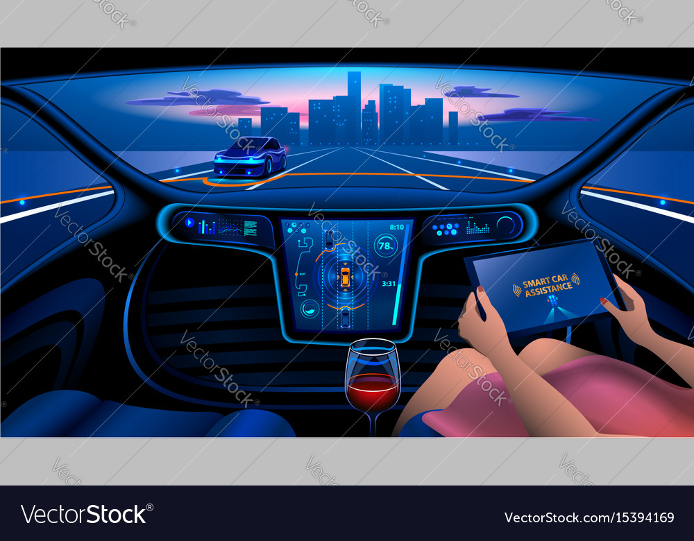 Smart Car Interior >> Smart Car Interior
