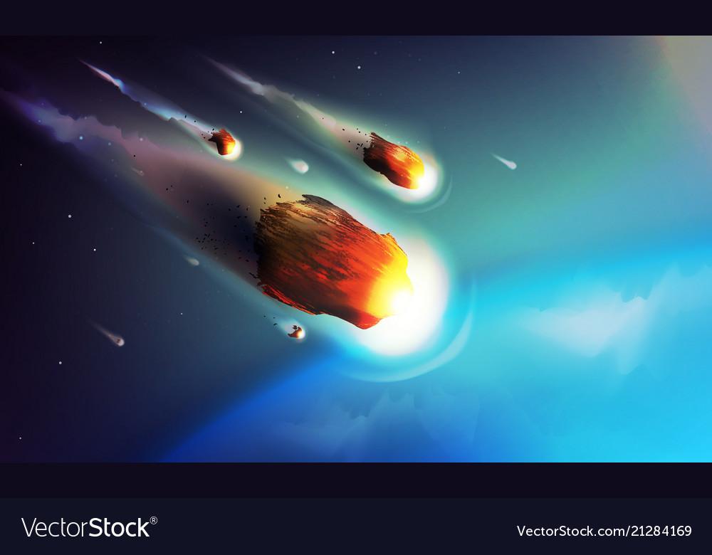 Stock meteorite comet