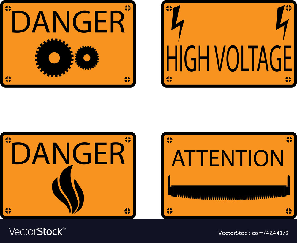 Icons danger