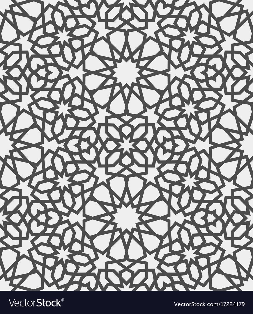 Islamic Pattern Seamless Arabic Geometric