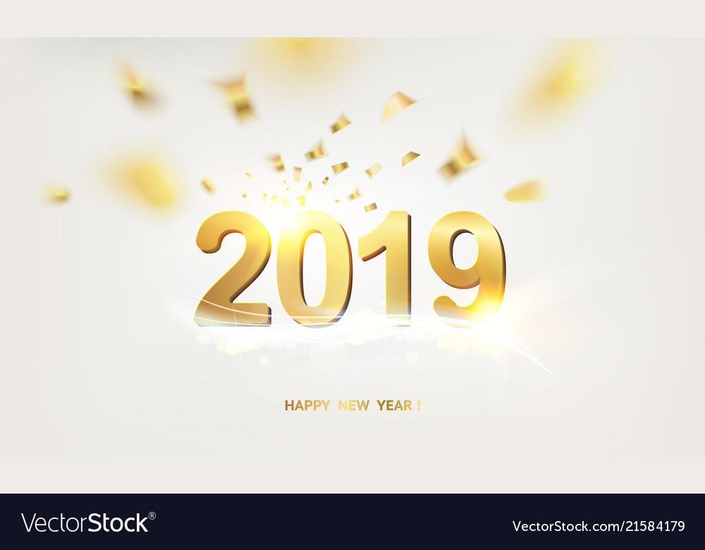 New year calendar label