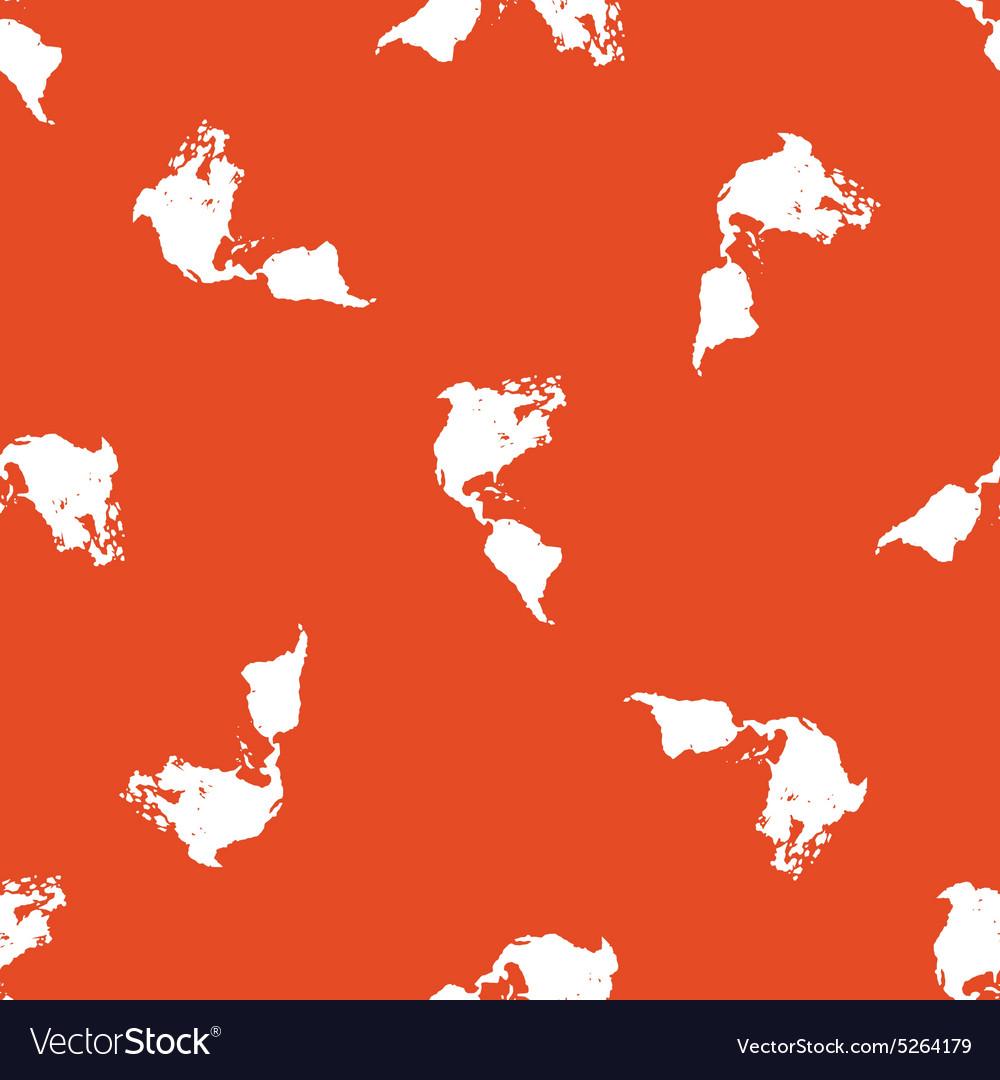 Orange America pattern