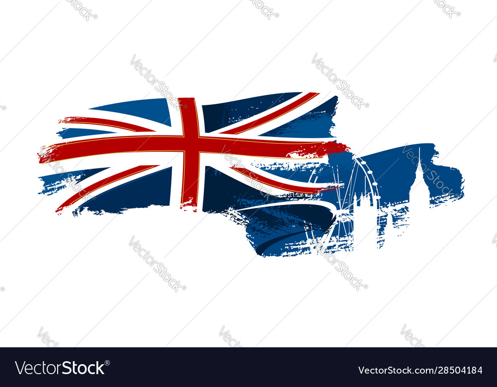 British waving flag