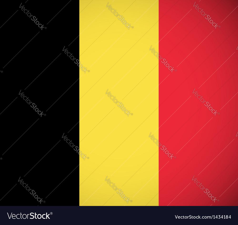 National flag belgium