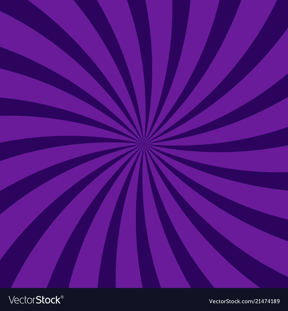 Abstract swirling radial dark purple pattern