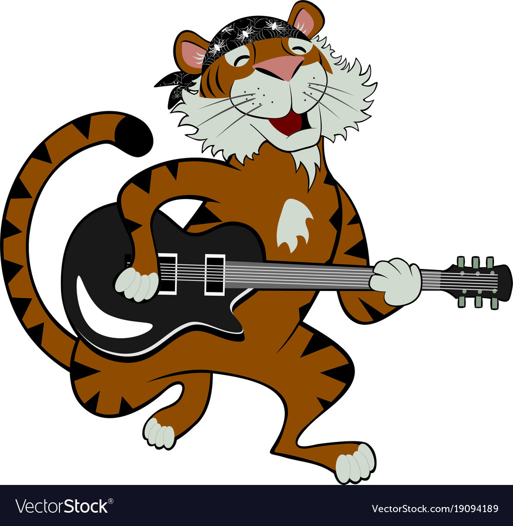 Rock star tiger