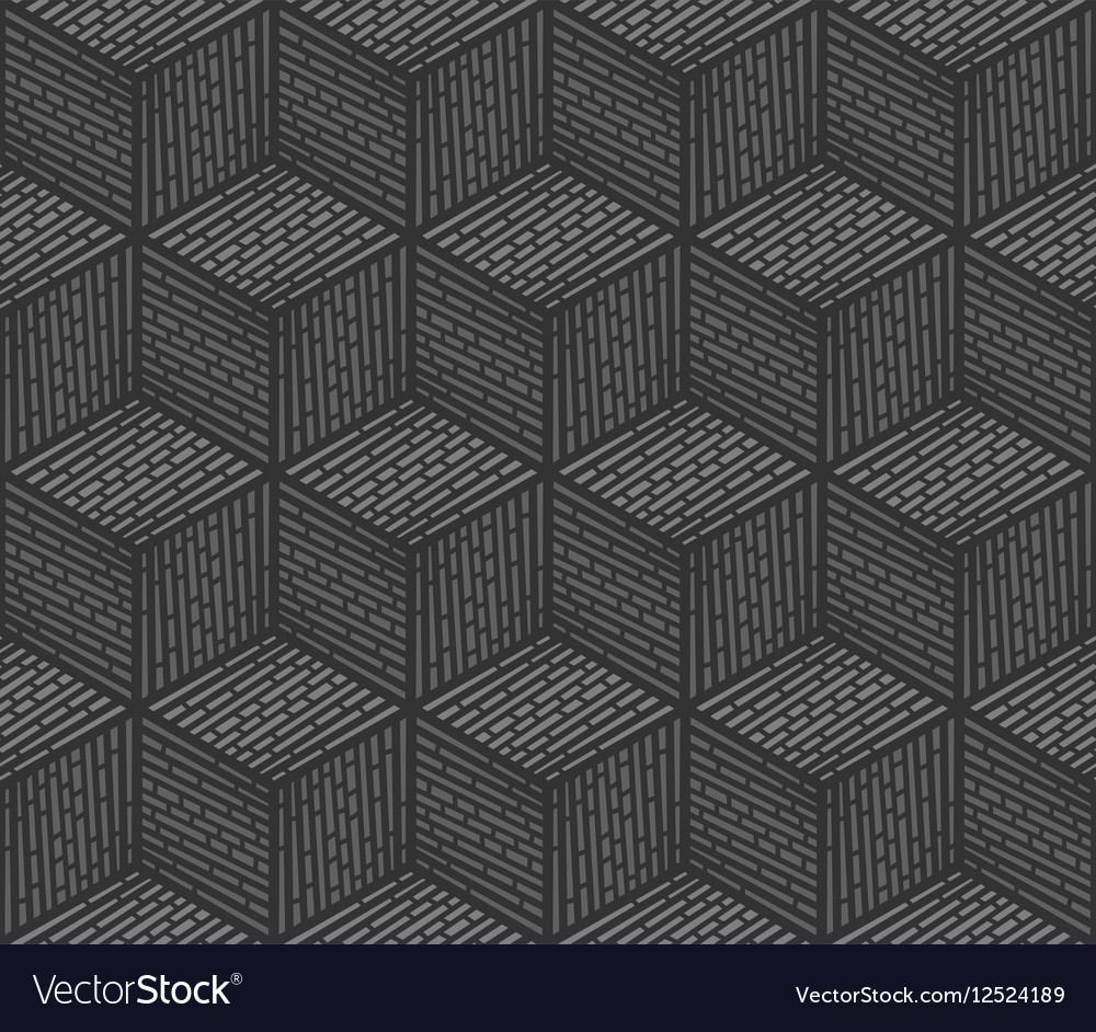 Seamless background design consisting of cubes