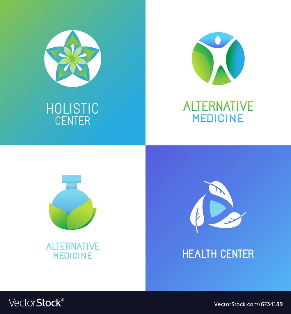 Set of emblems and logo design templates