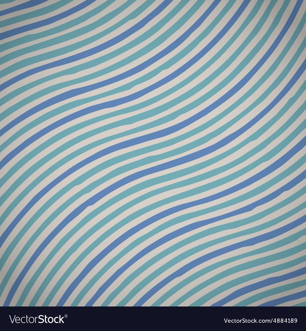 Vintage Geometric Waves Retro Lines Grunge Wave