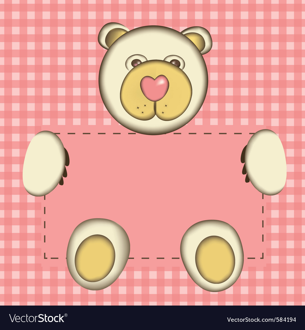 Bear for baby girl
