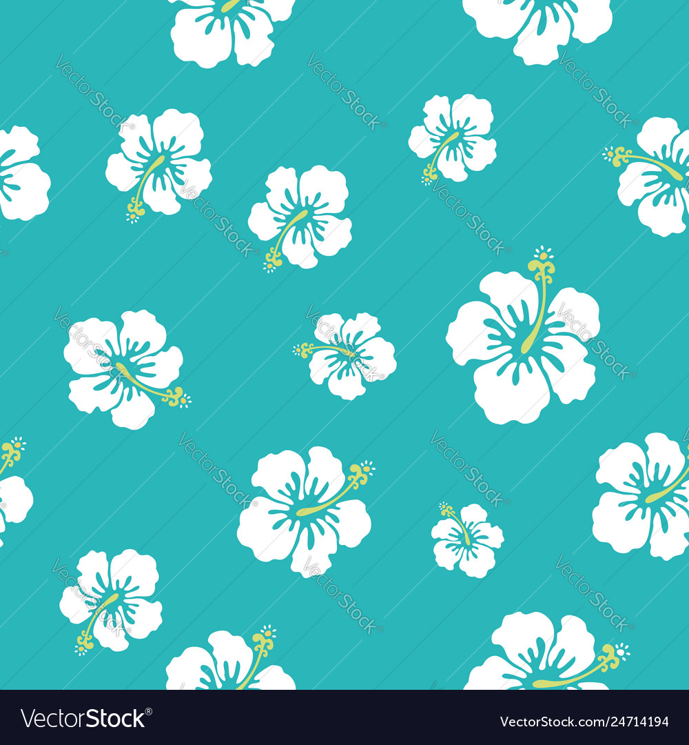 Hawaii flowers texture make your pattern