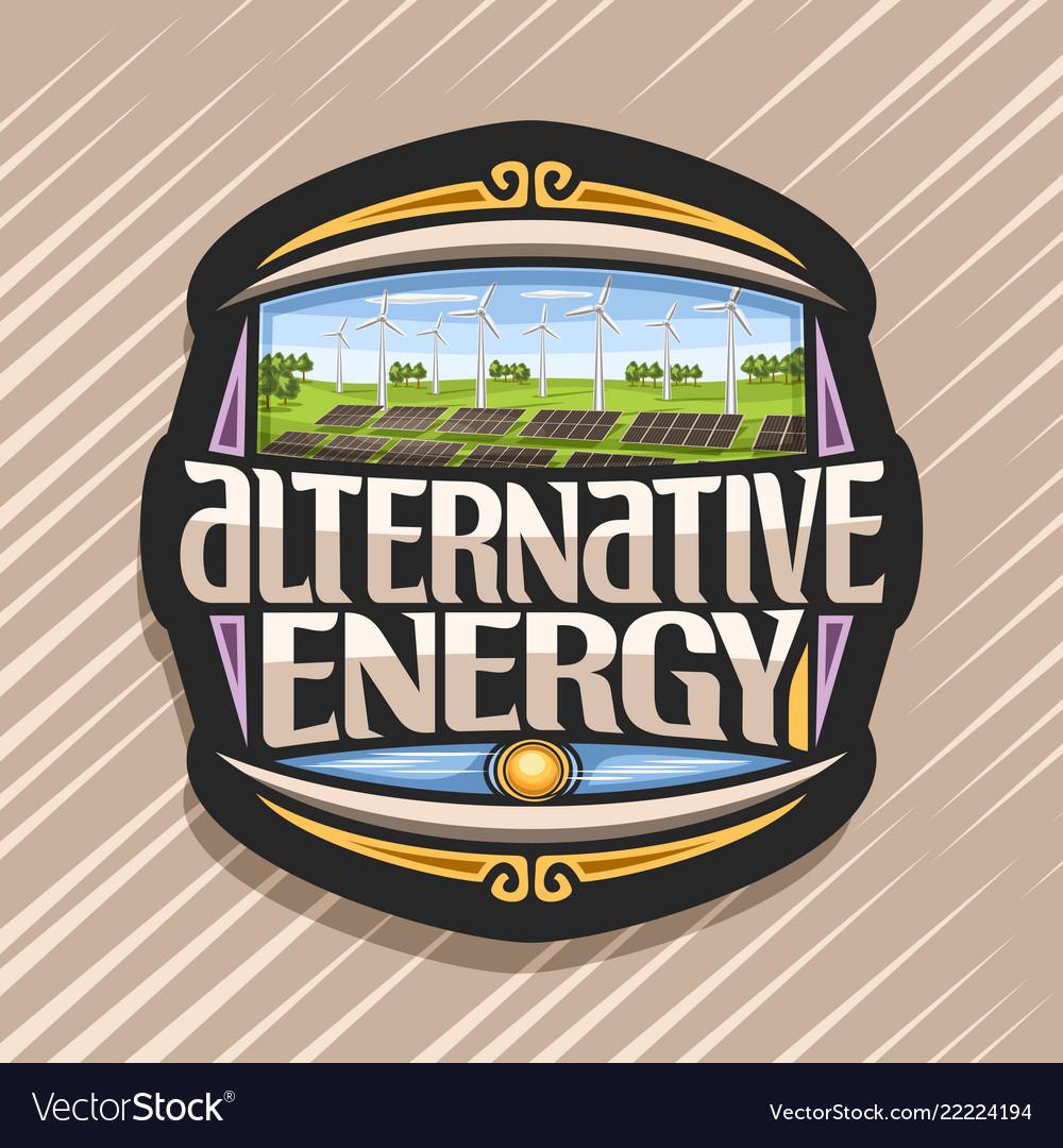 Logo for alternative energy