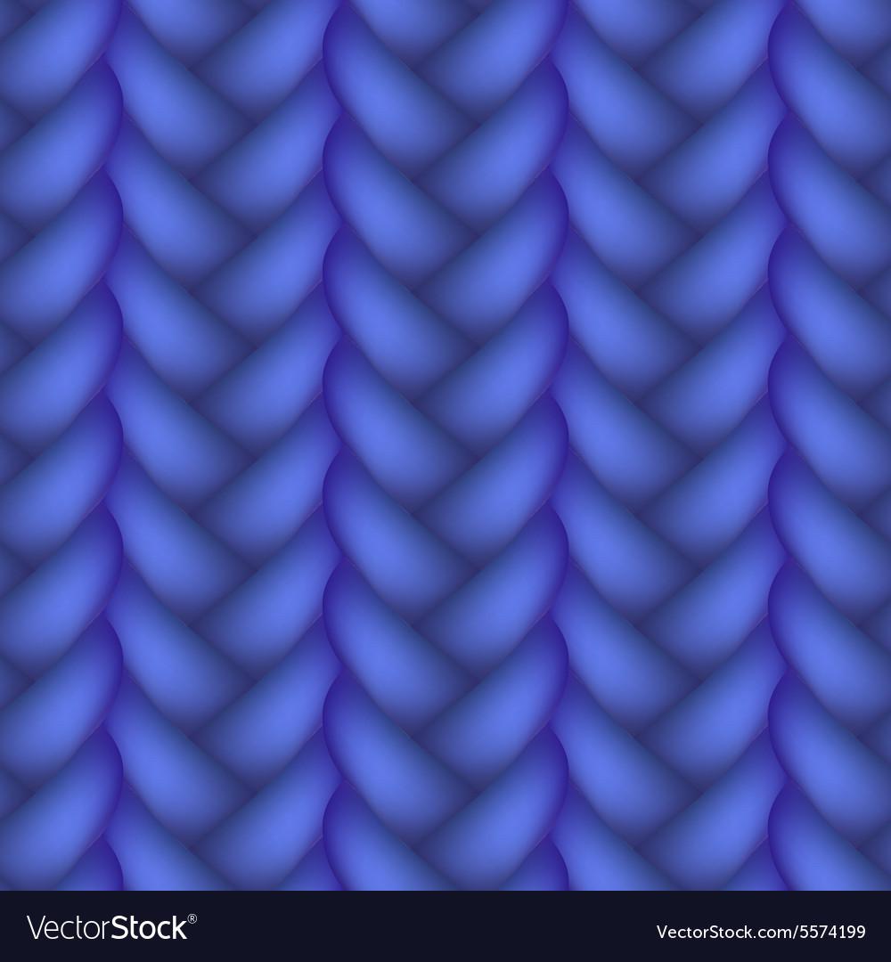 Woven braid seamless pattern