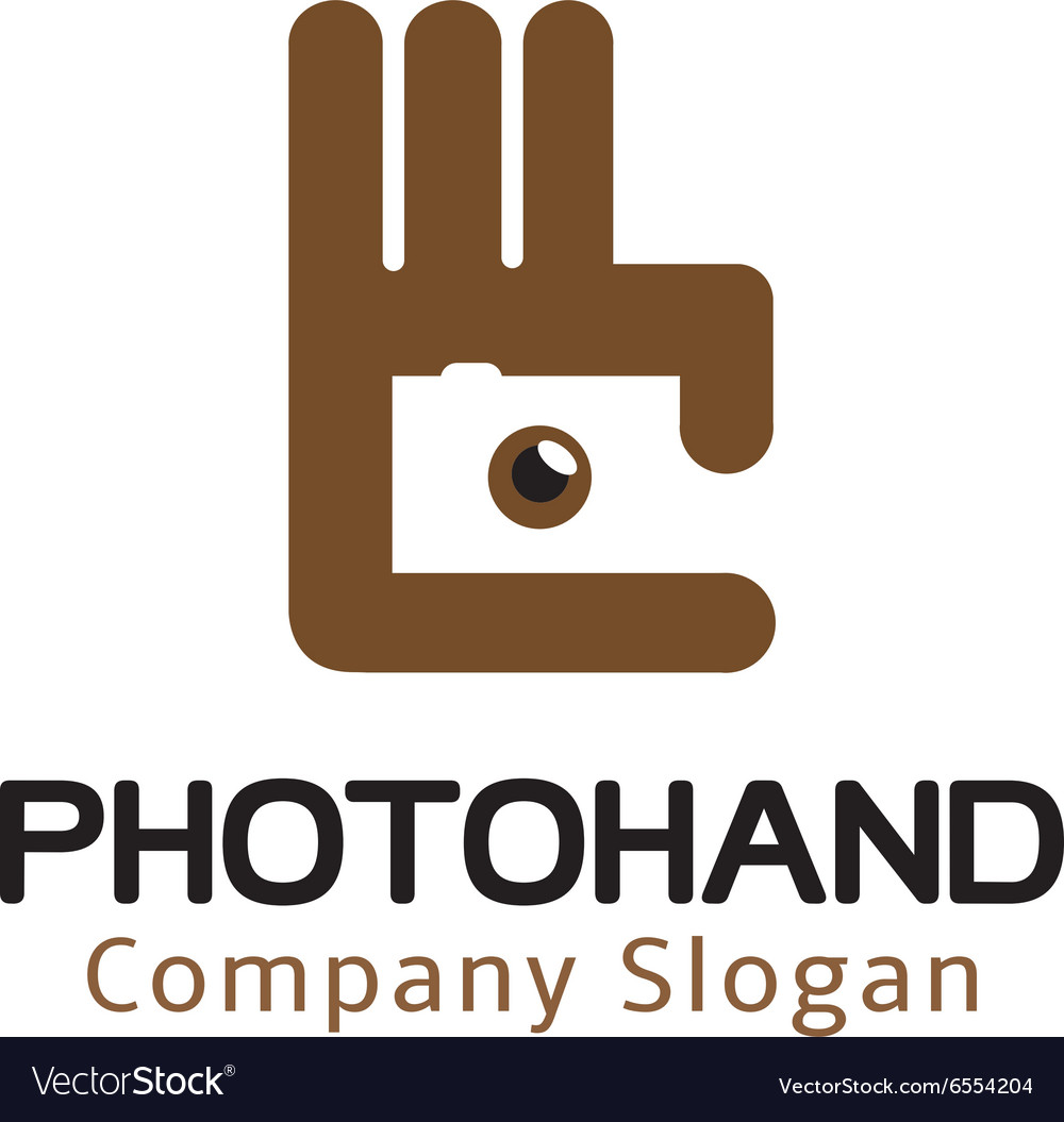 Photo Hand Design vector image