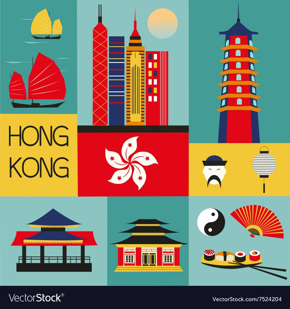 Symbols of Hongkong