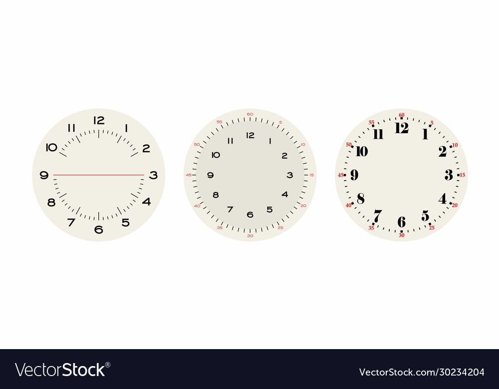 Universal set 2 classic dials for wall height