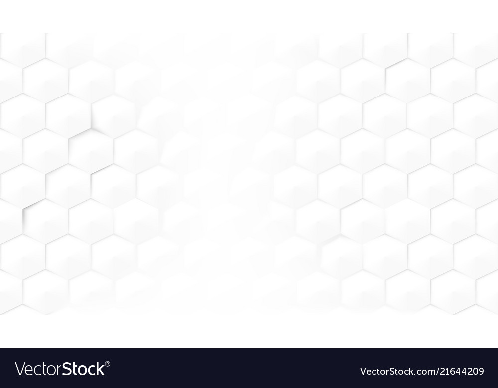 Abstract light hexagon honeycomb background