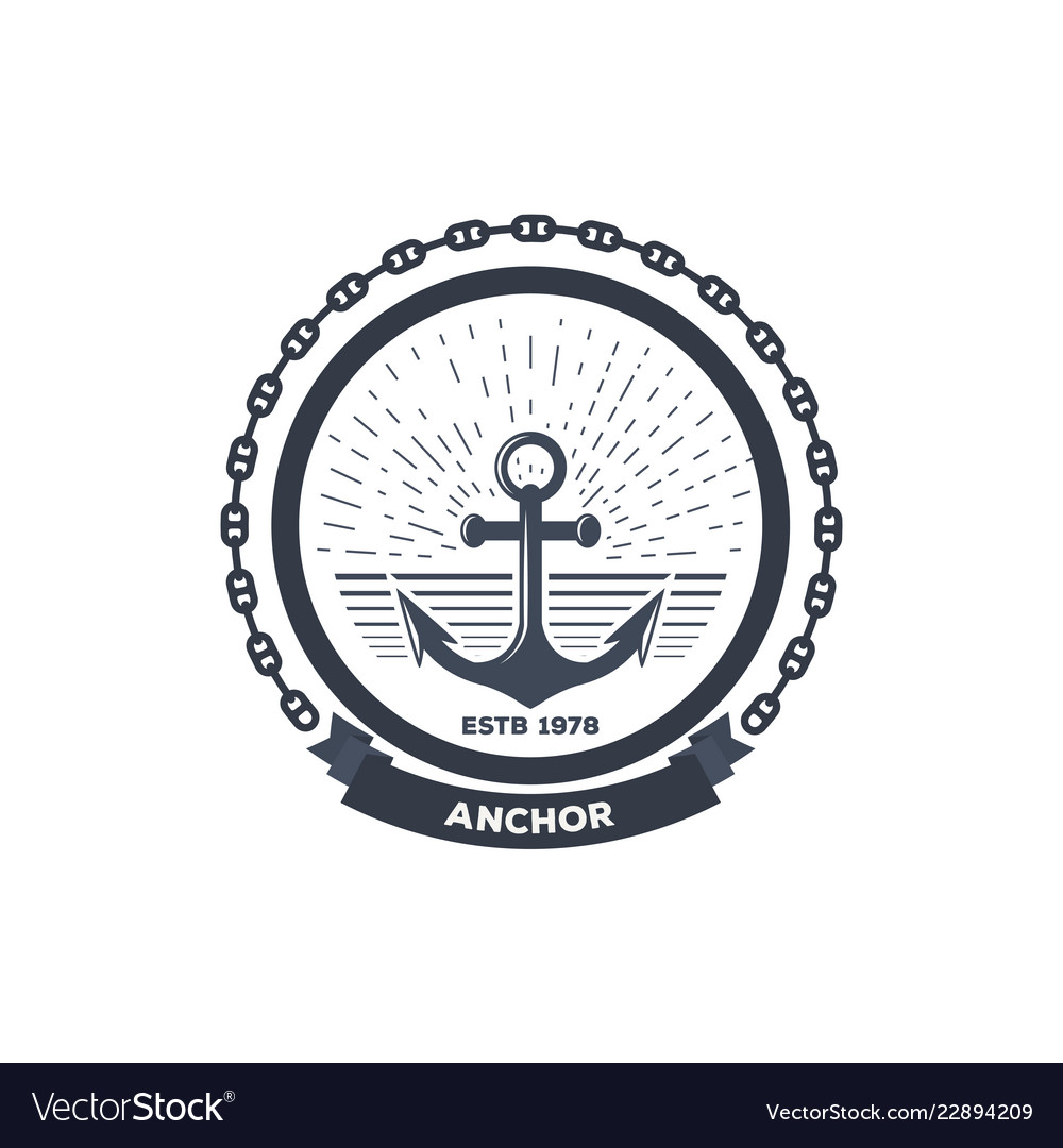 Anchor black logo