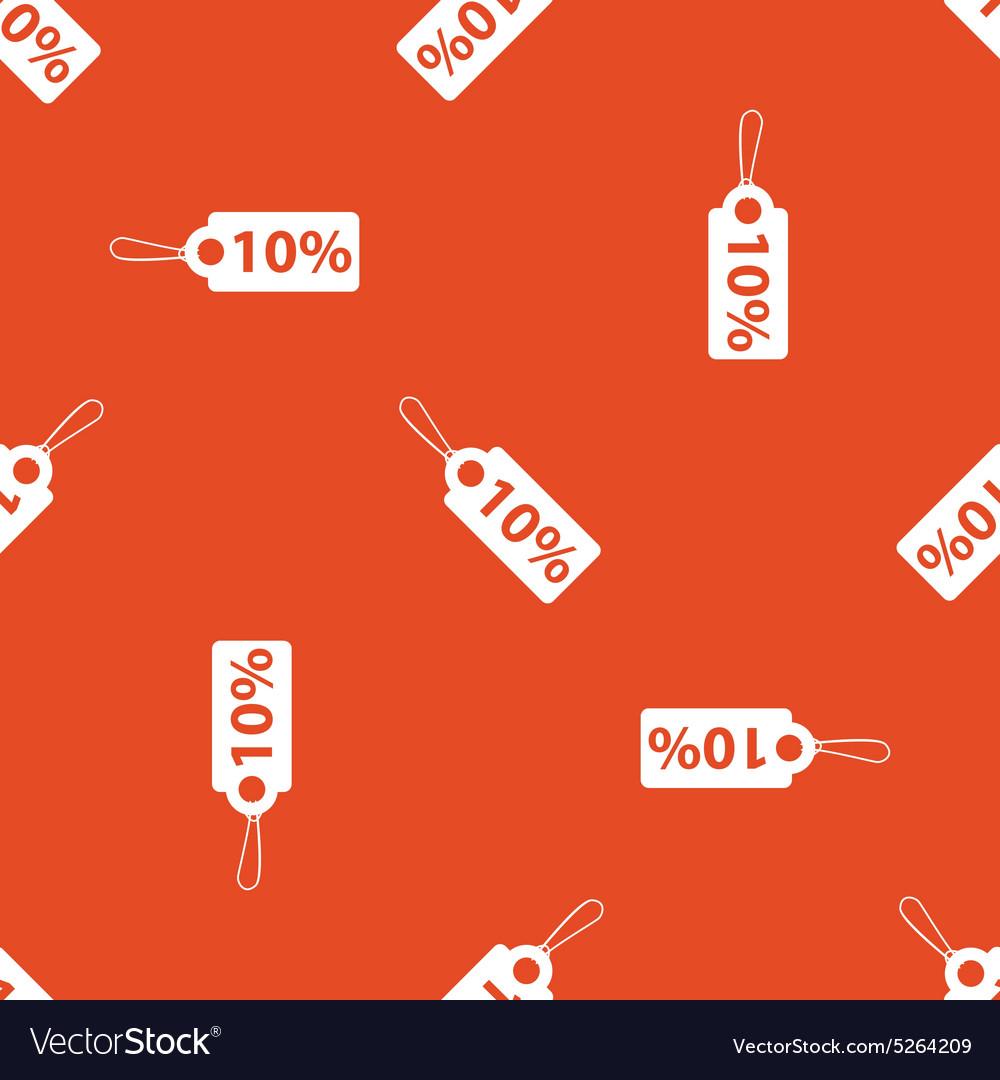 Orange discount pattern