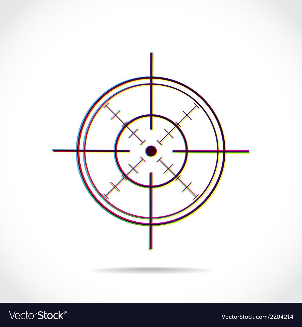 Crosshair symbol
