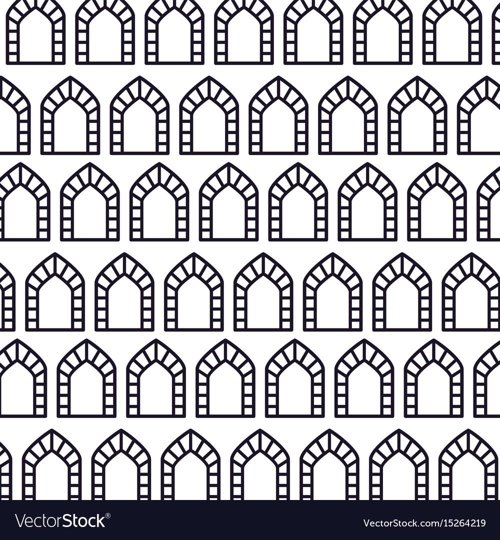 Pattern background with mandalas