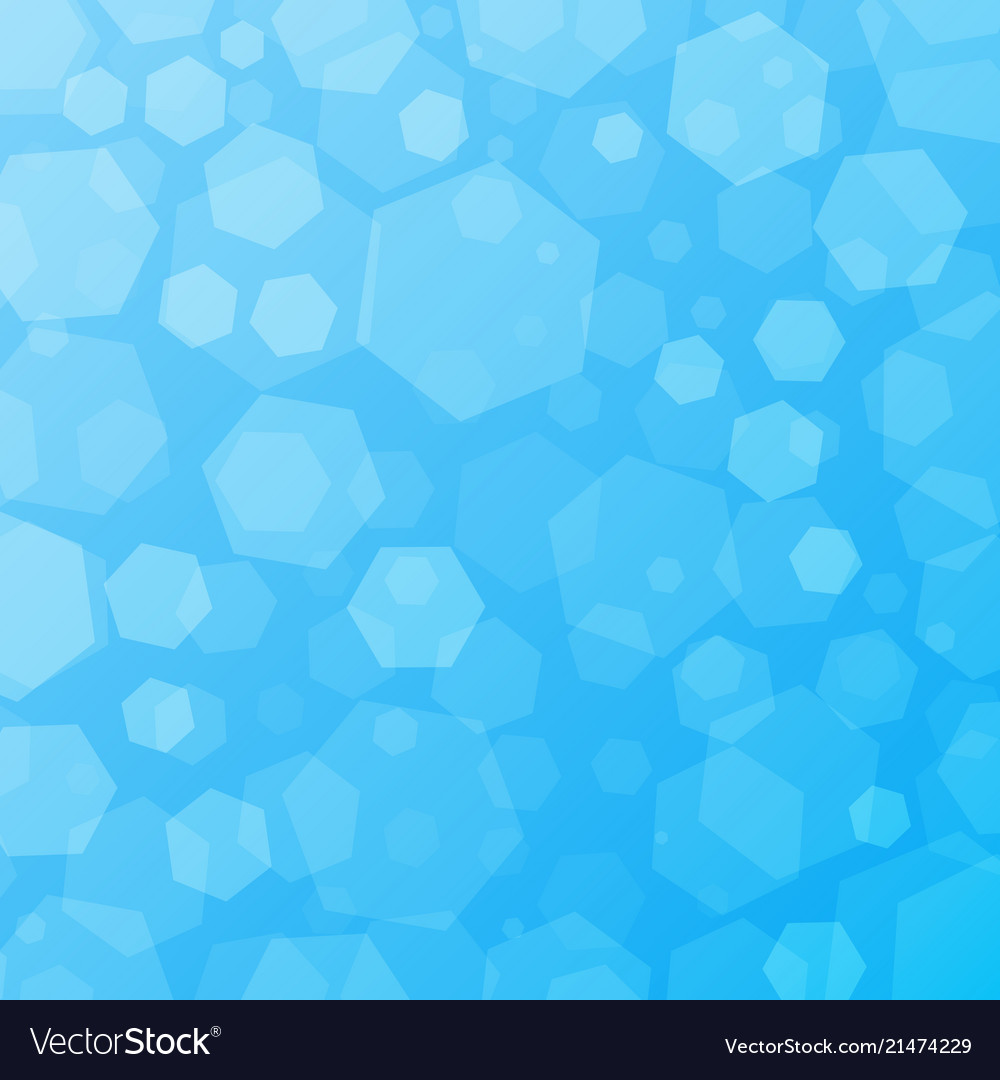 Blue geometric abstract techno background with