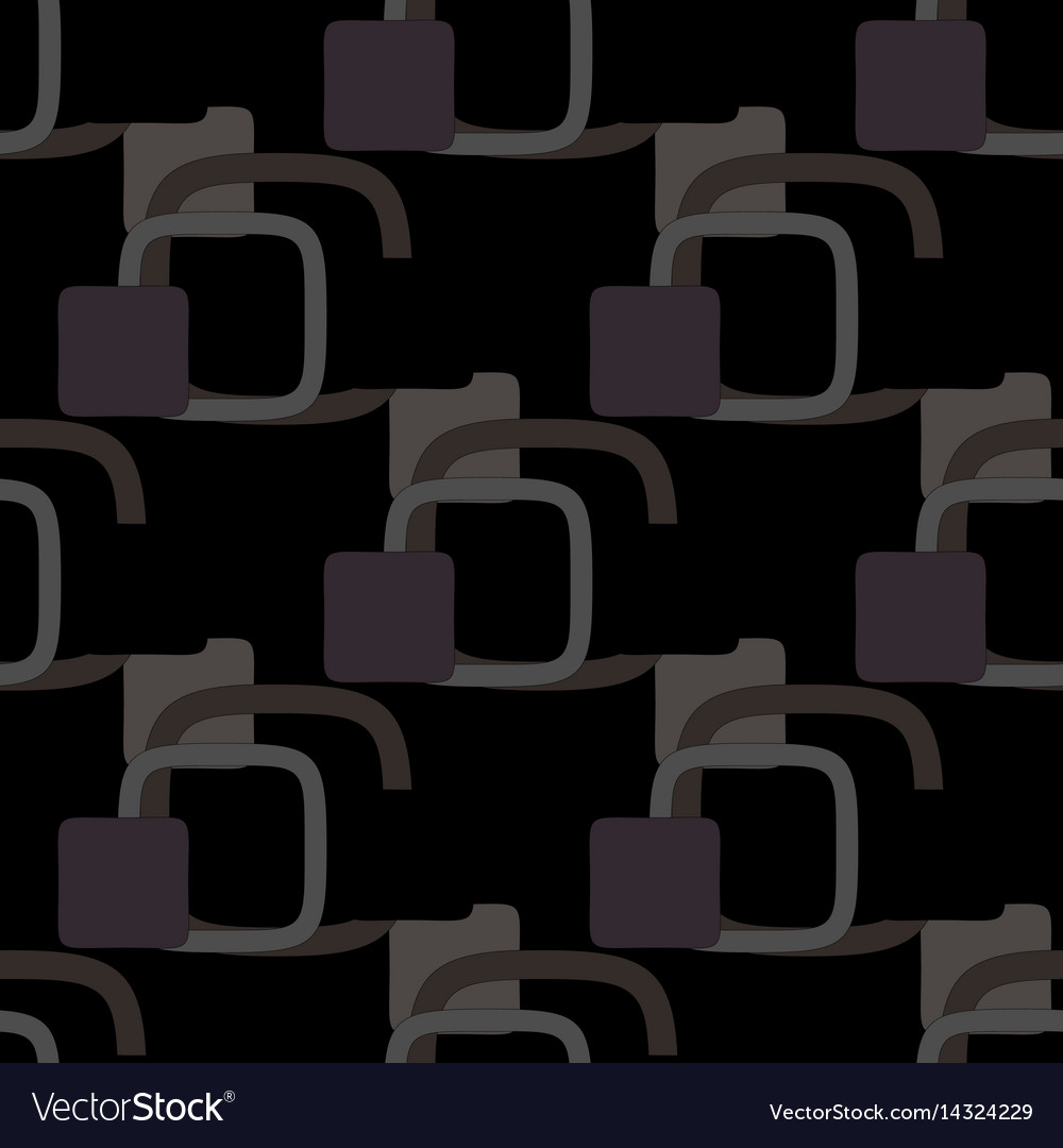 Geometric pattern on a black background