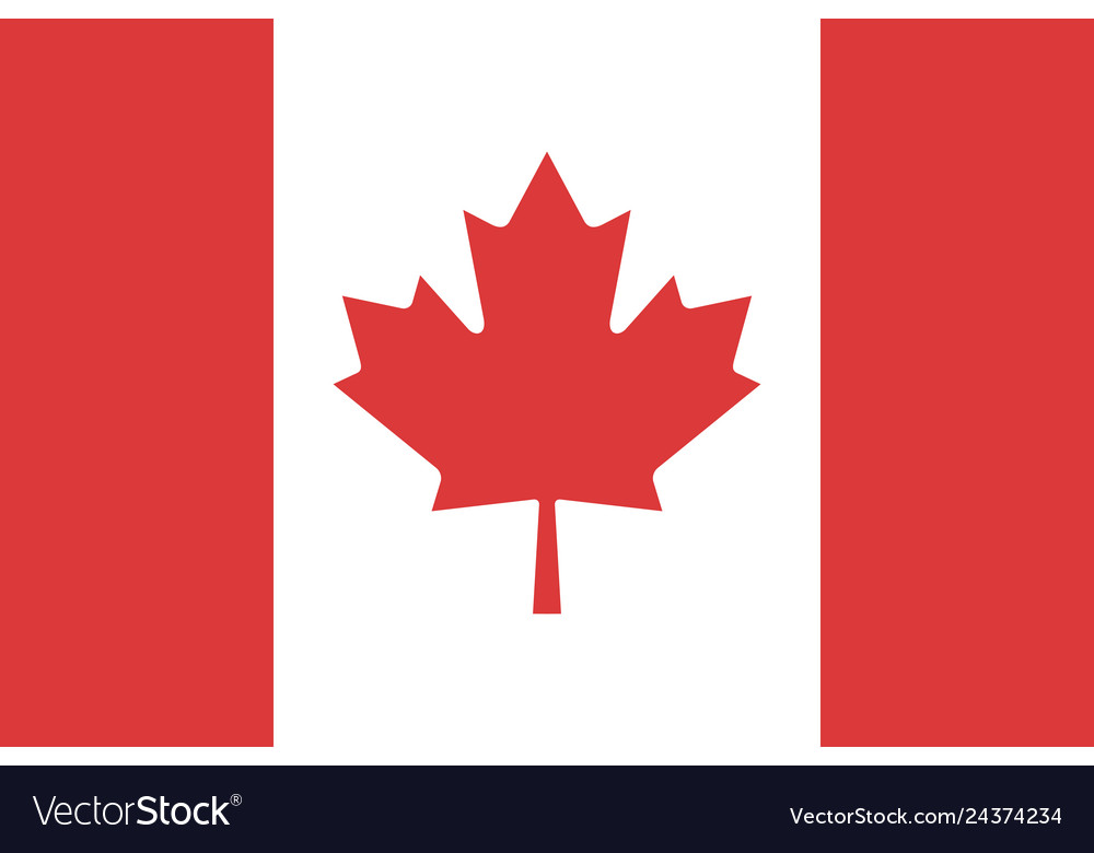 Flag canada sign styles