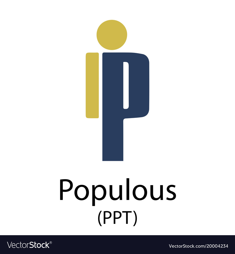 Populous cryptocurrency symbol